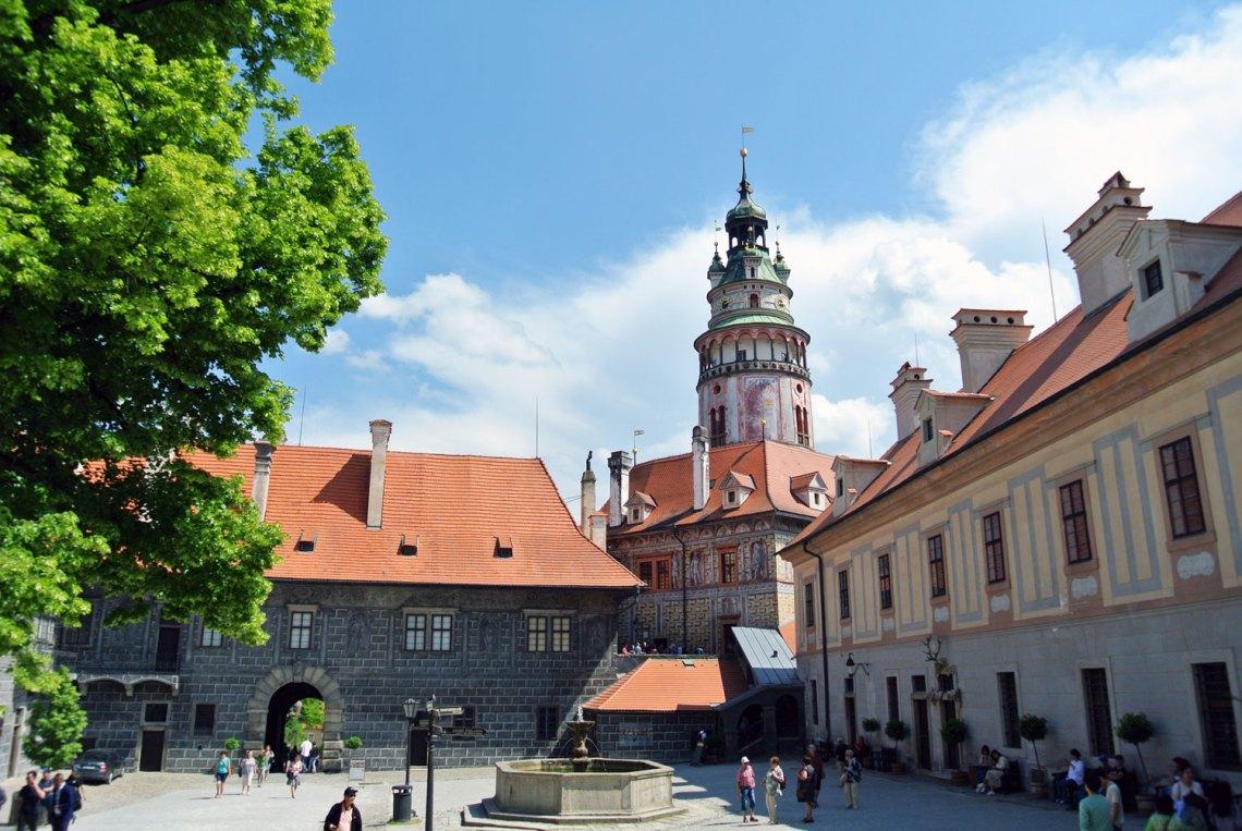Glockenturm Český Krumlov