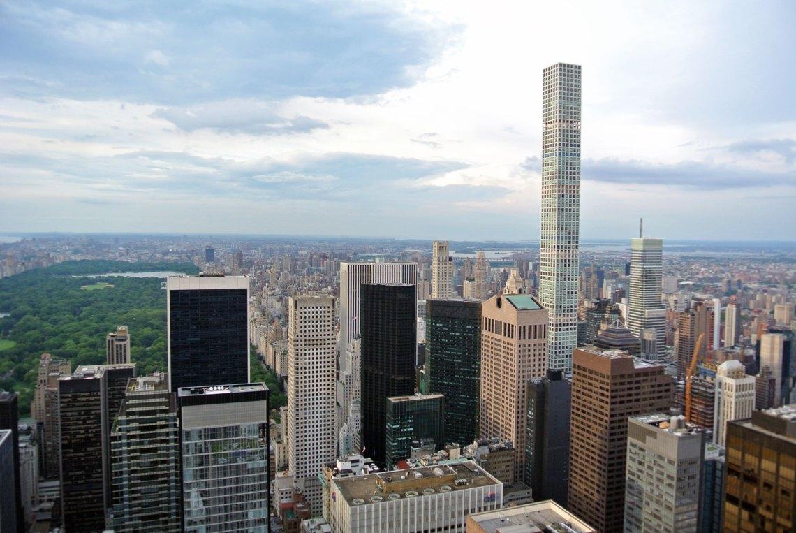 Aussicht Rockefeller Center New York