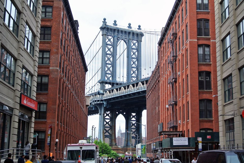 Manhattan Bridge DUMBO Brooklyn New York