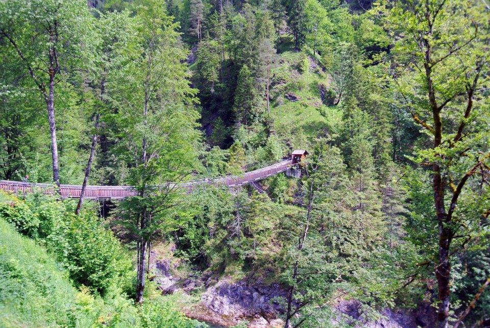 Hängebrücke Wasserlochklamm Palfau