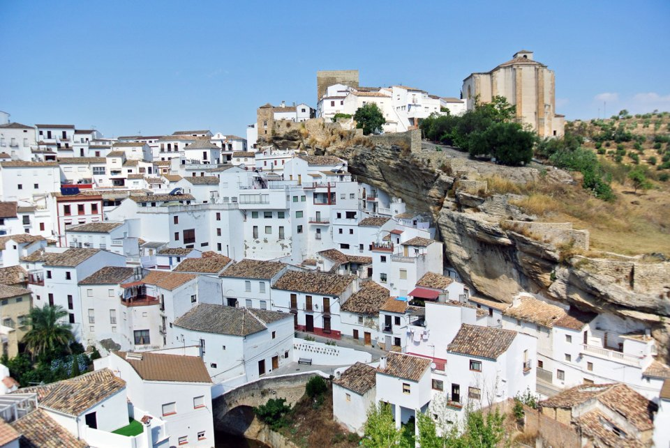 Setenil de las Bodegas Andalusien