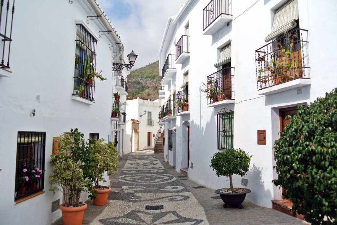 Comares Andalusien