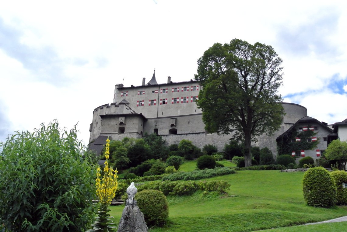 Innenhof Burg Hohenwerfen
