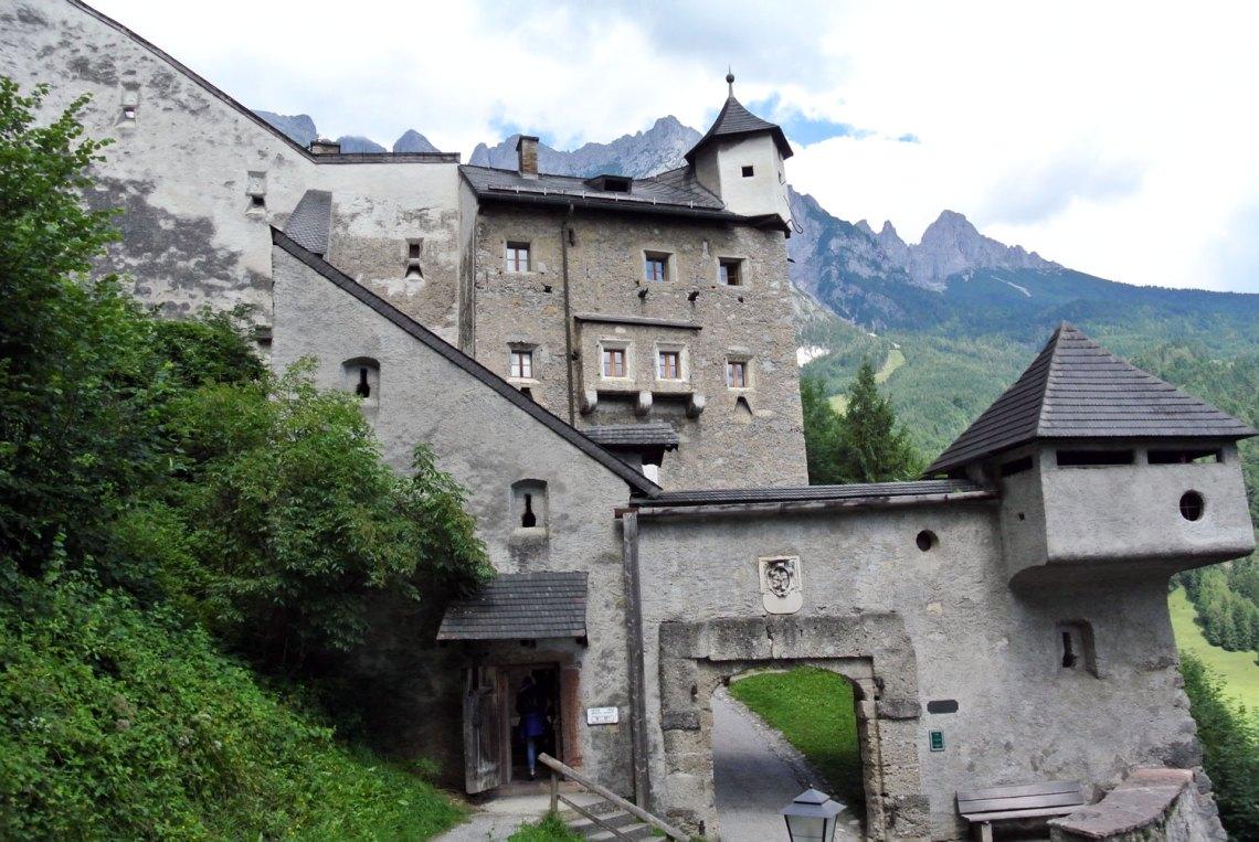 Burgtor Burg Hohenwerfen