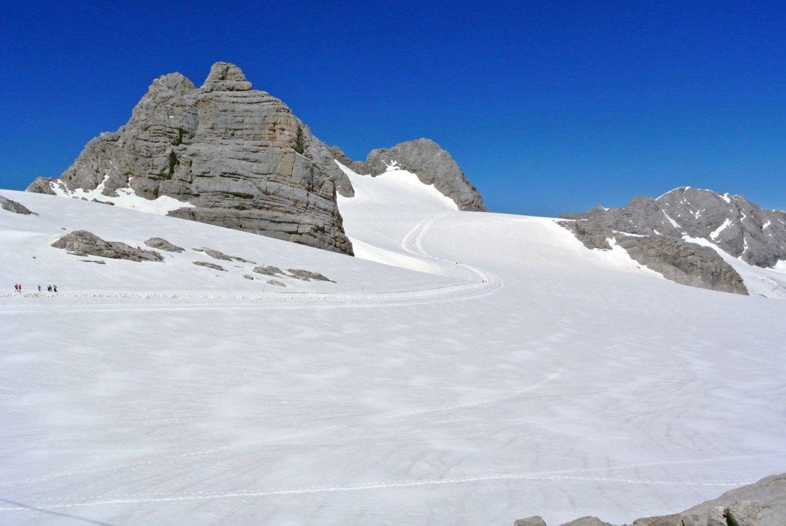 Klettern und Wandern am Dachstein Gletscher