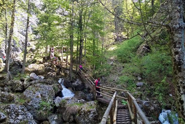 Wandern Bärenschützklamm Steiermark
