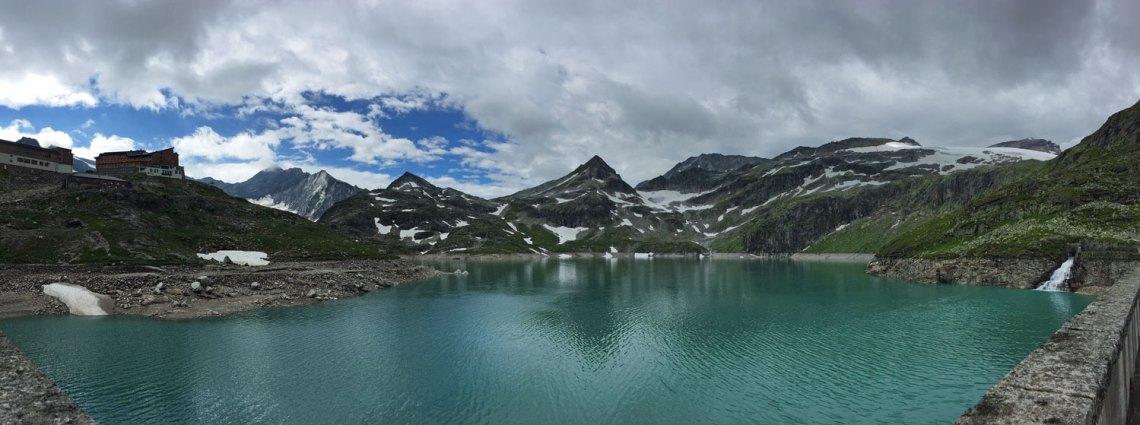 Panorama Weißsee Gletschwelt