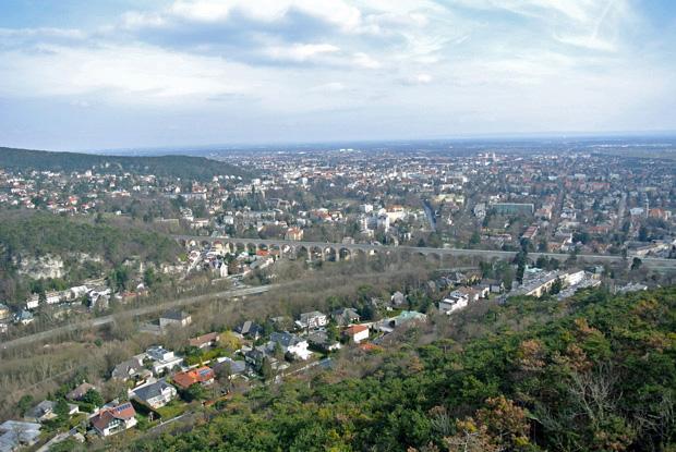 Burg Rauheneck - Blick auf Baden