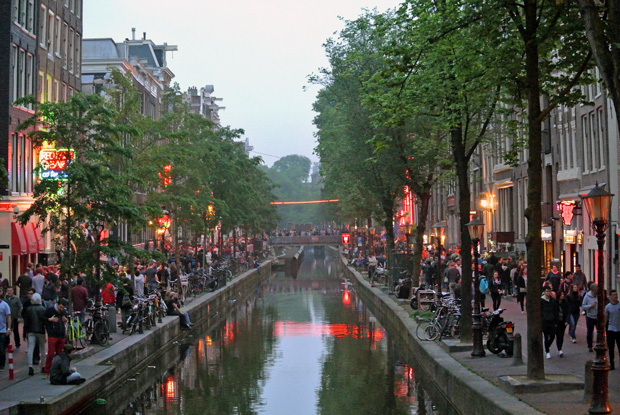 Amsterdam Red Light District