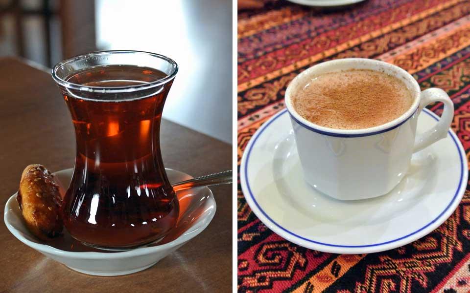 Chai und Salep in Istanbul