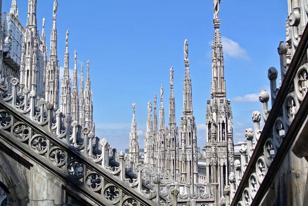 Mailand Dom Dachterrasse