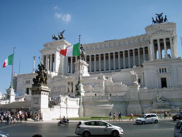Monumento Vittorio Emanuele II. in Rom