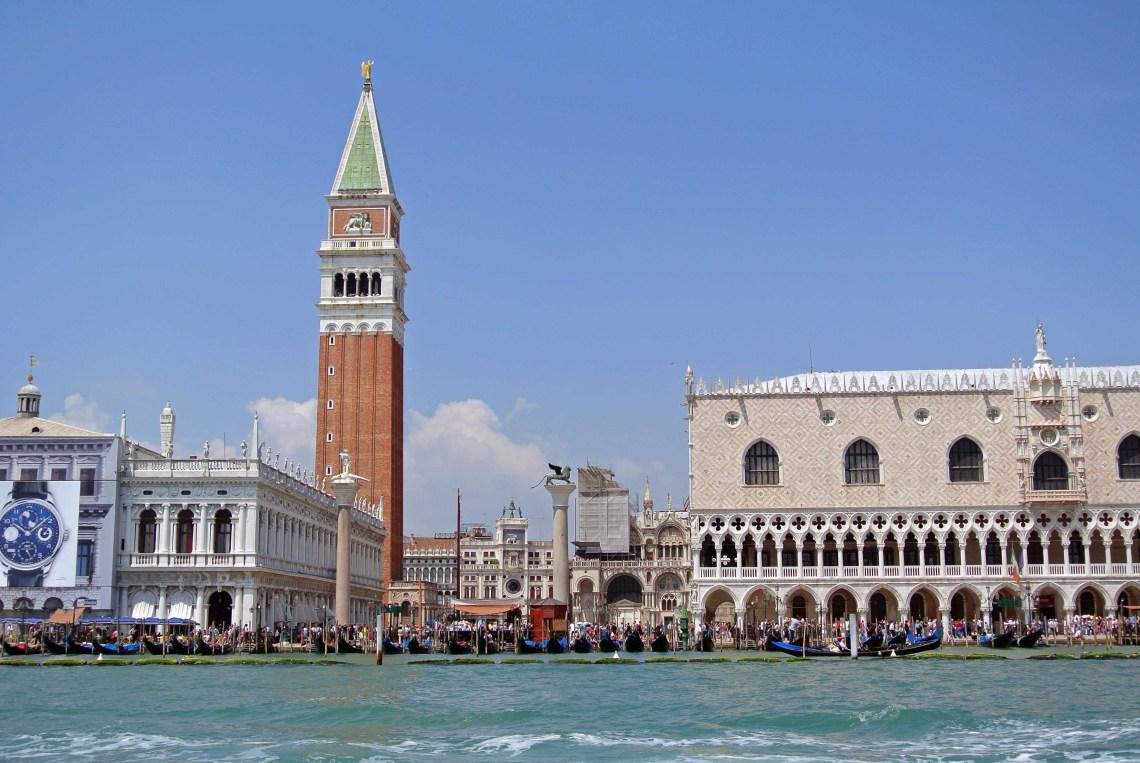 Markusdom und Dogenpalast in Venedig