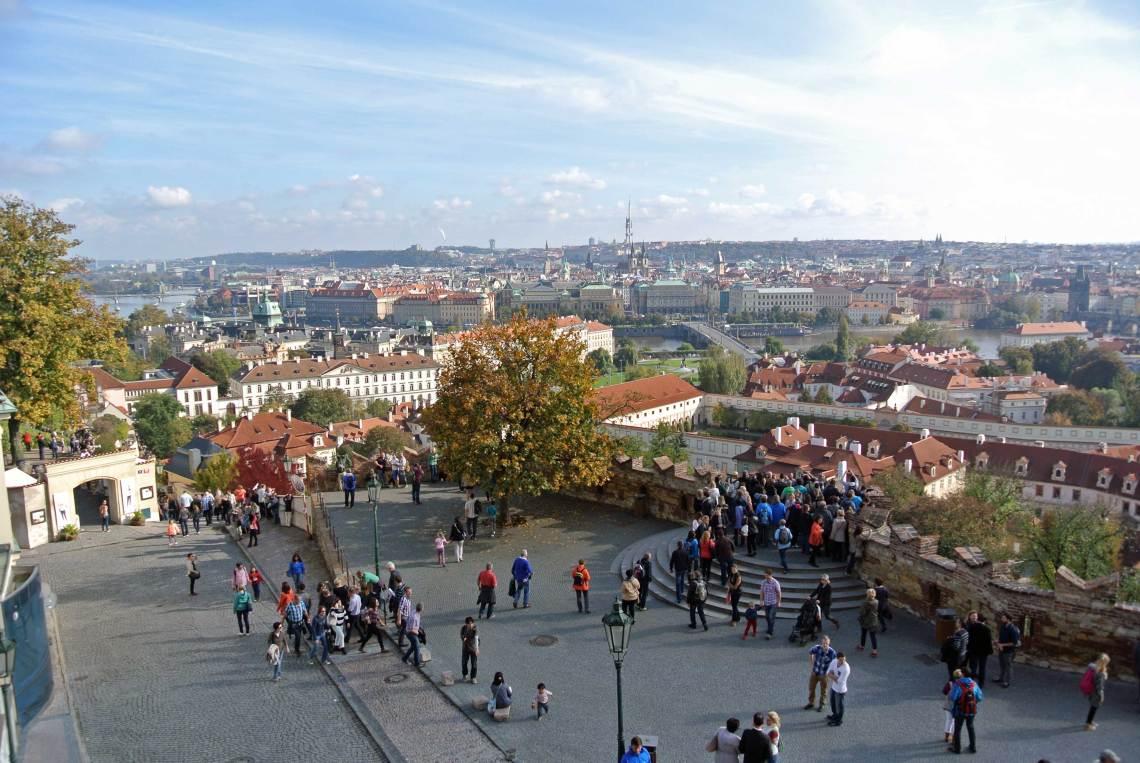 Blick von der Prager Burg
