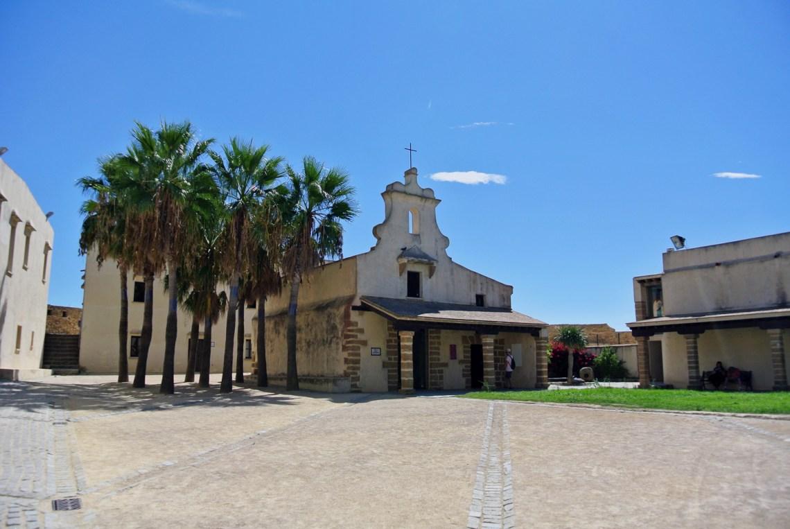 Castillo de Santa Catalina in Andalusien, Spanien