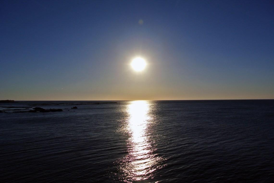 Sonnenuntergang in Cadiz in Andalusien, Spanien