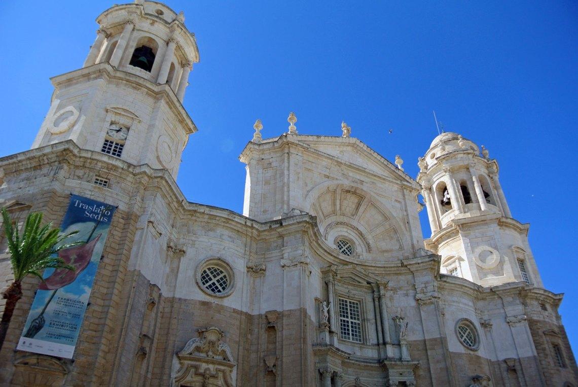 Catedral de Cadiz in Andalusien, Spanien