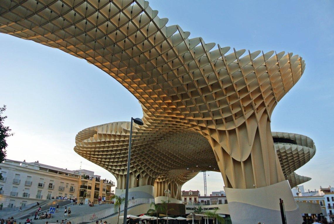 Metropol Parasol in Andalusien, Spanien