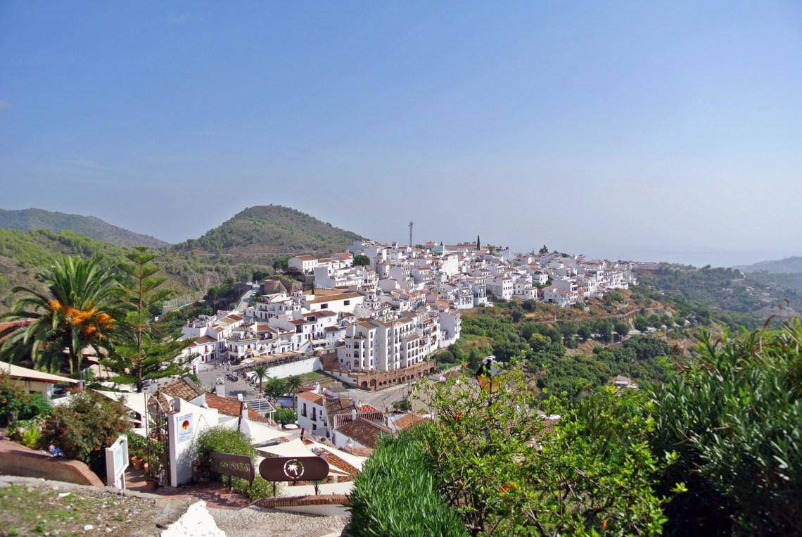 Frigiliana, weißes Dorf in Andalusien