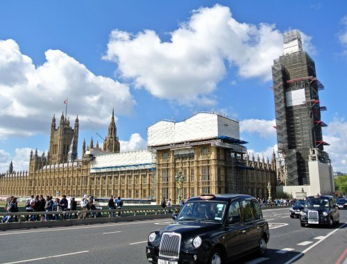 Westminster Palace und Big Ben in London