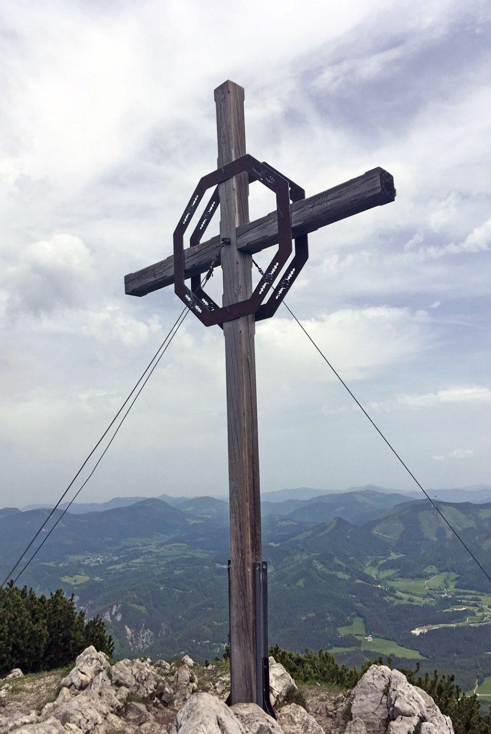 Gipfel der Gemeindealpe im Mostviertel