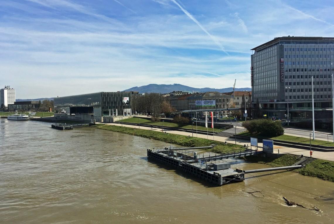 Donaupromenade in Linz