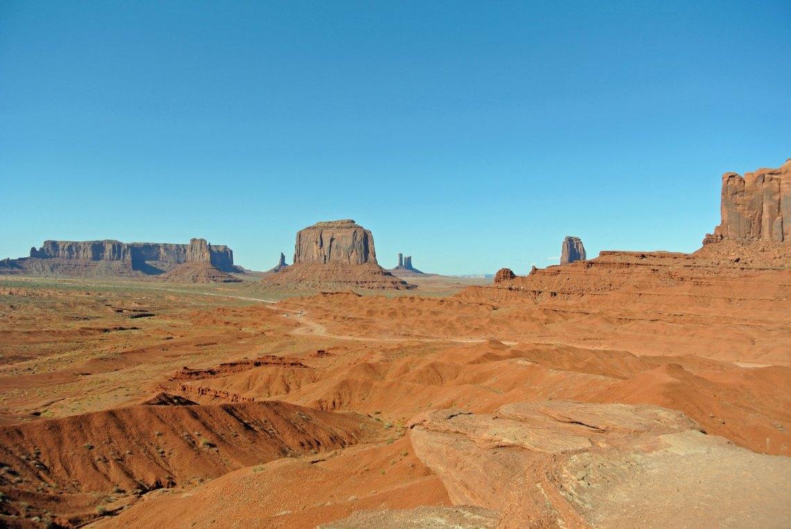 Monument Valley im Südwesten der USA