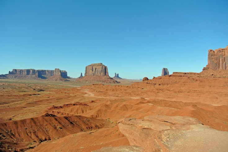 Monument Valley im Südwesten der USA