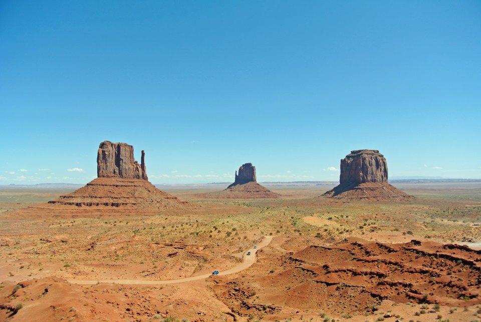 Monument Valley in Arizona, USA