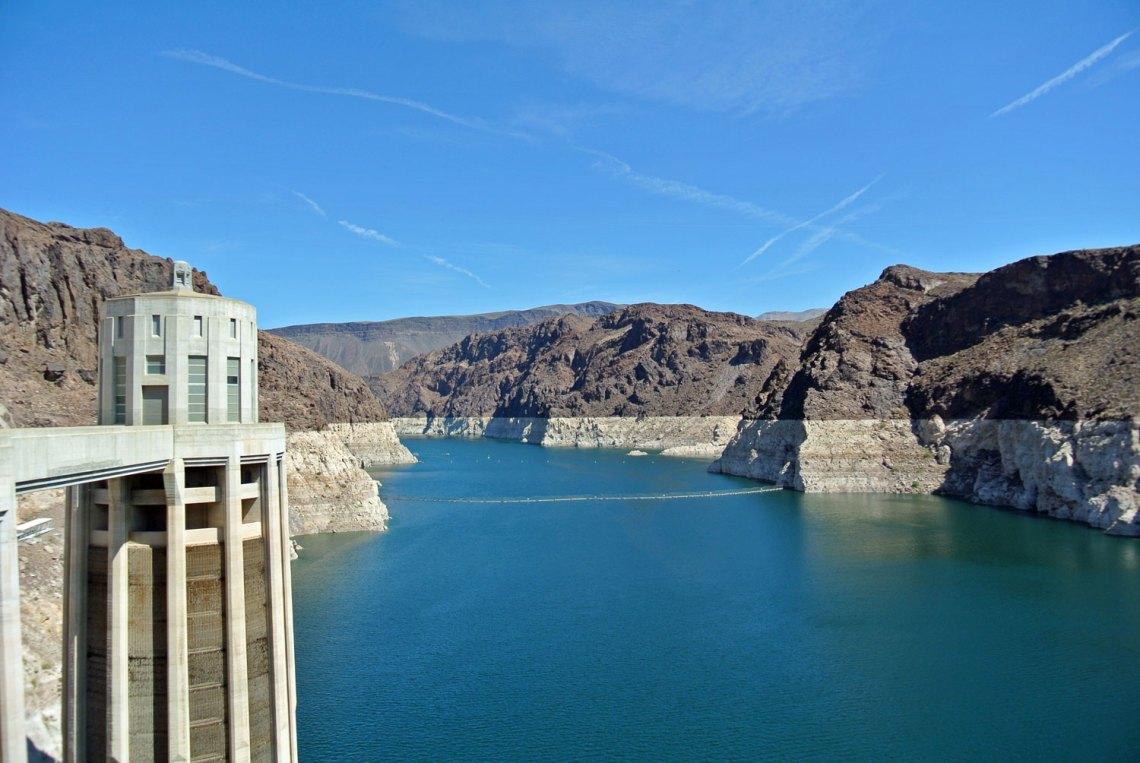 Lake Mead im Südwesten der USA
