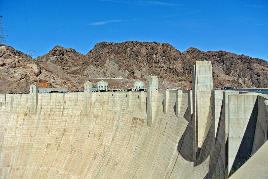 Hoover Dam im Südwesten der USA