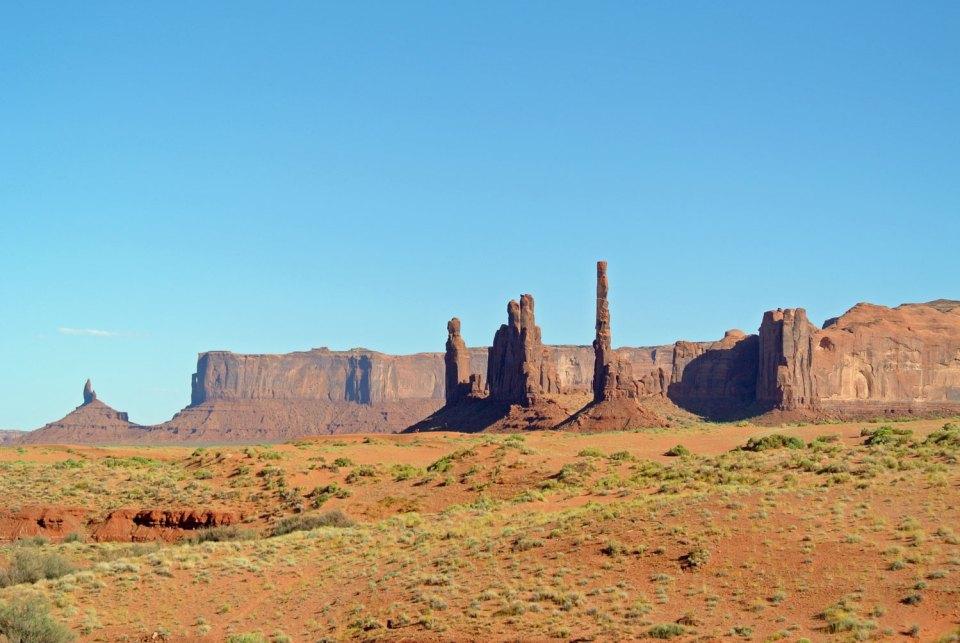 Felsformation Monument Valley