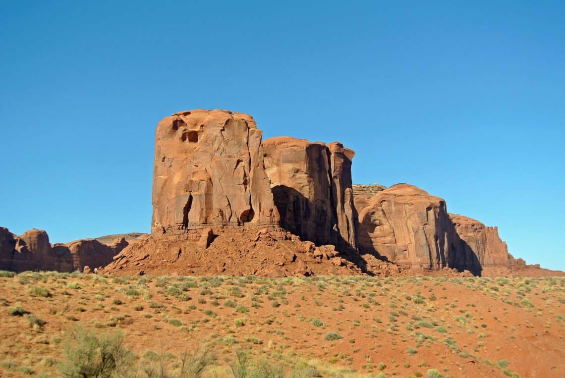 Fels im Monument Valley