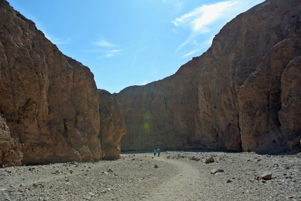 Weg zur Natural Bridge im Death Valley