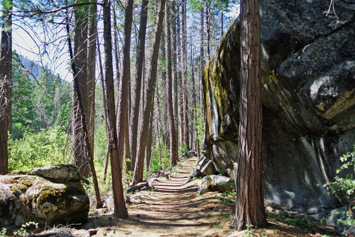 Valley Loop Trail im Yosemite National Park