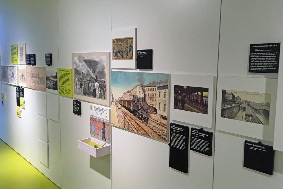 Informationen im Verkehrsmuseum Remise