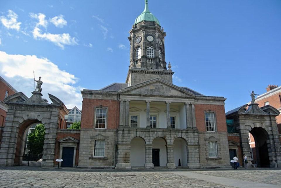Innenhof des Dublin Castle