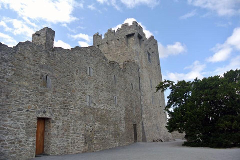 Ross Castle in Killarney, Irland
