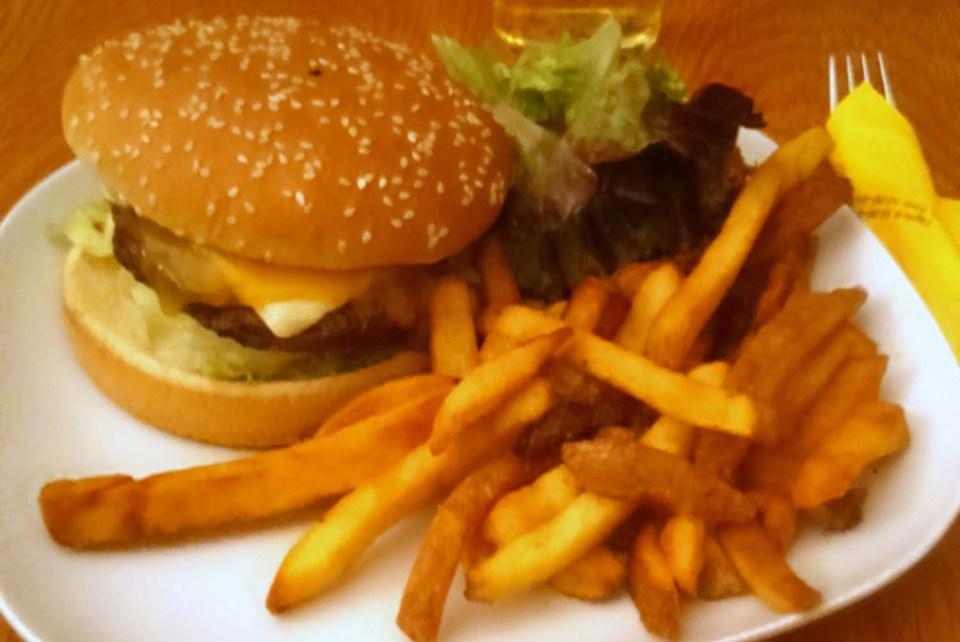Burger im Billabon