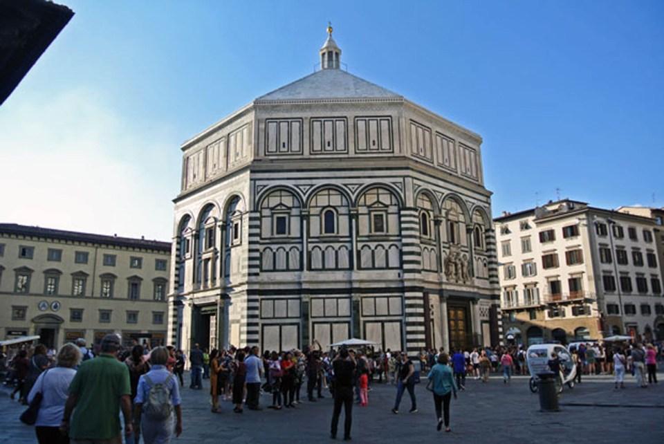 Baptiserium San Giovanni Florenz
