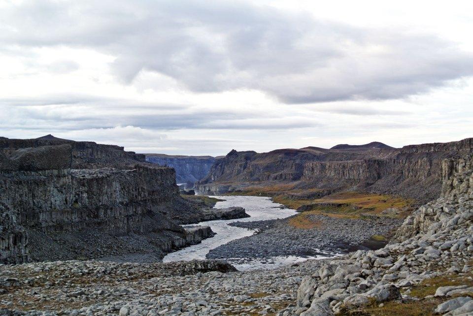 Hafragilsfoss Island
