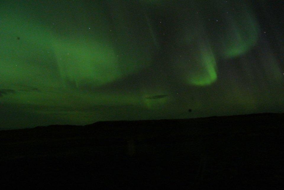 Snæfellsnes Island Nordlichter