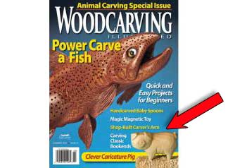 wood carving kit by Christine Coffman featured in Woodcarving