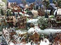 Christmas Village Tables Merry And Happy New Year 2018