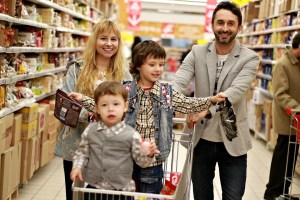 family black friday shopping