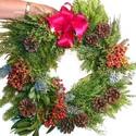 how to make an evergreen wreath