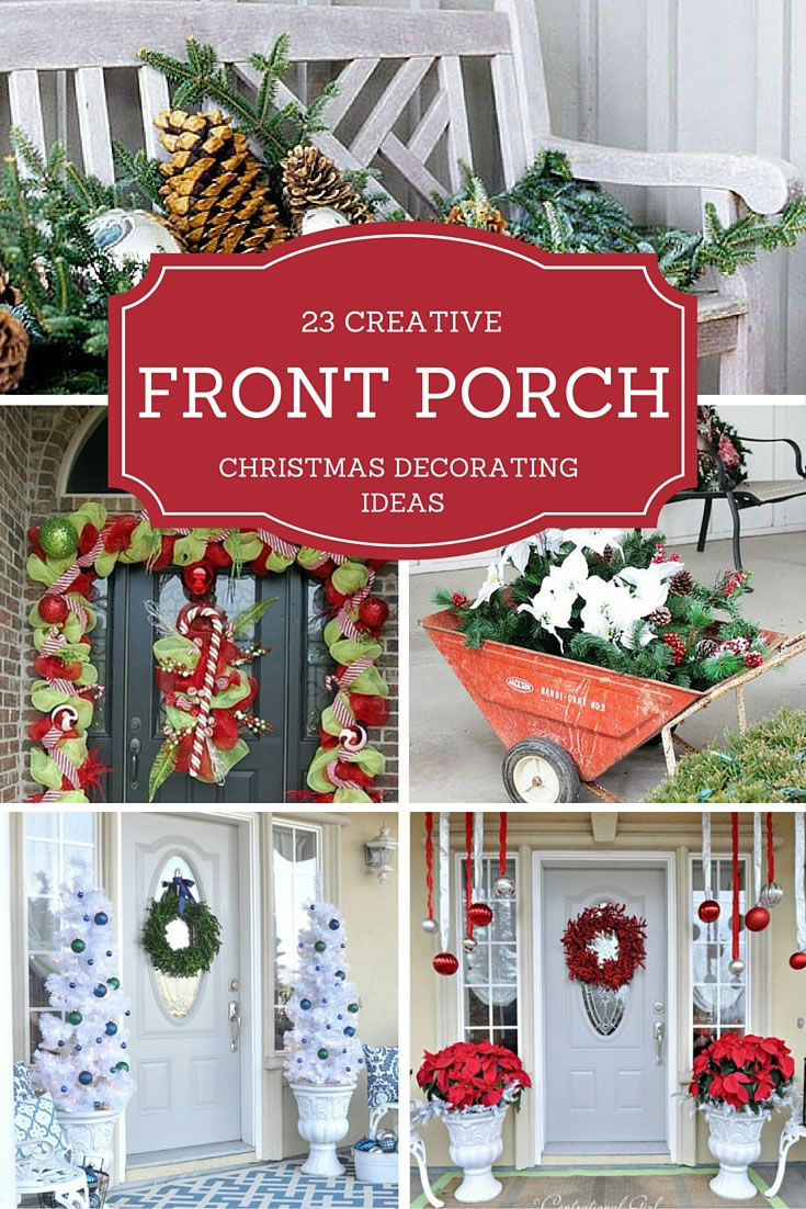 23 Creative Front Porch Christmas Decorating Ideas   Christmas Designers 23 Creative Front Porch Christmas Decorating Ideas