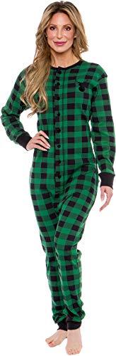 New Mens Large Moose Reindeer Plush PAJAMA Warm Union Suit One Piece Pajamas