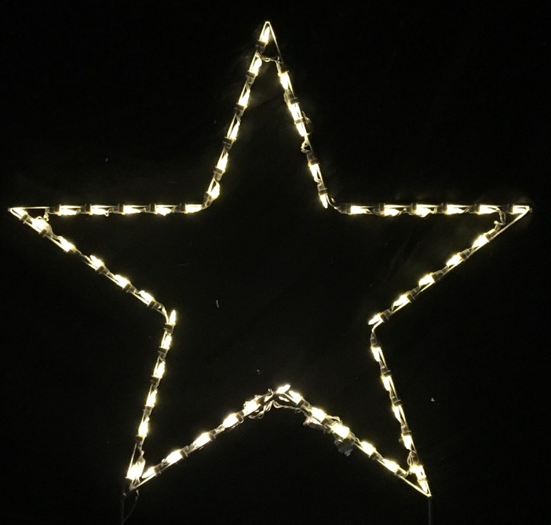 Large Lighted Star Christmas Decoration