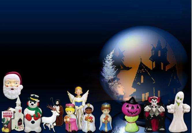 Outdoor Christmas Decoration Light Up Snowman